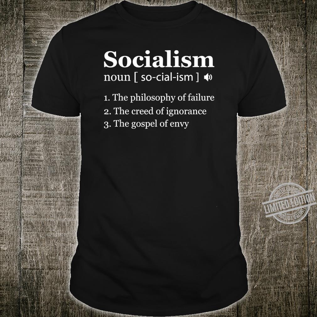 Anti Socialism Shirt Winston Churchill Quote Shirt
