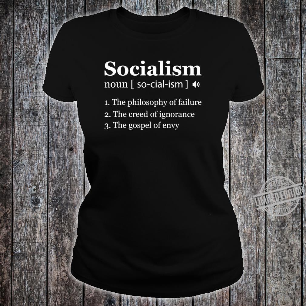Anti Socialism Shirt Winston Churchill Quote Shirt ladies tee