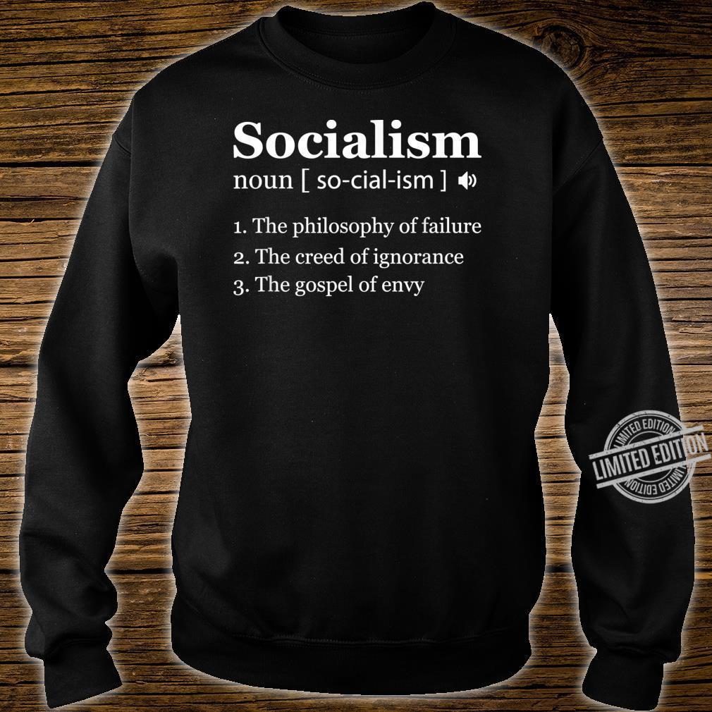 Anti Socialism Shirt Winston Churchill Quote Shirt sweater