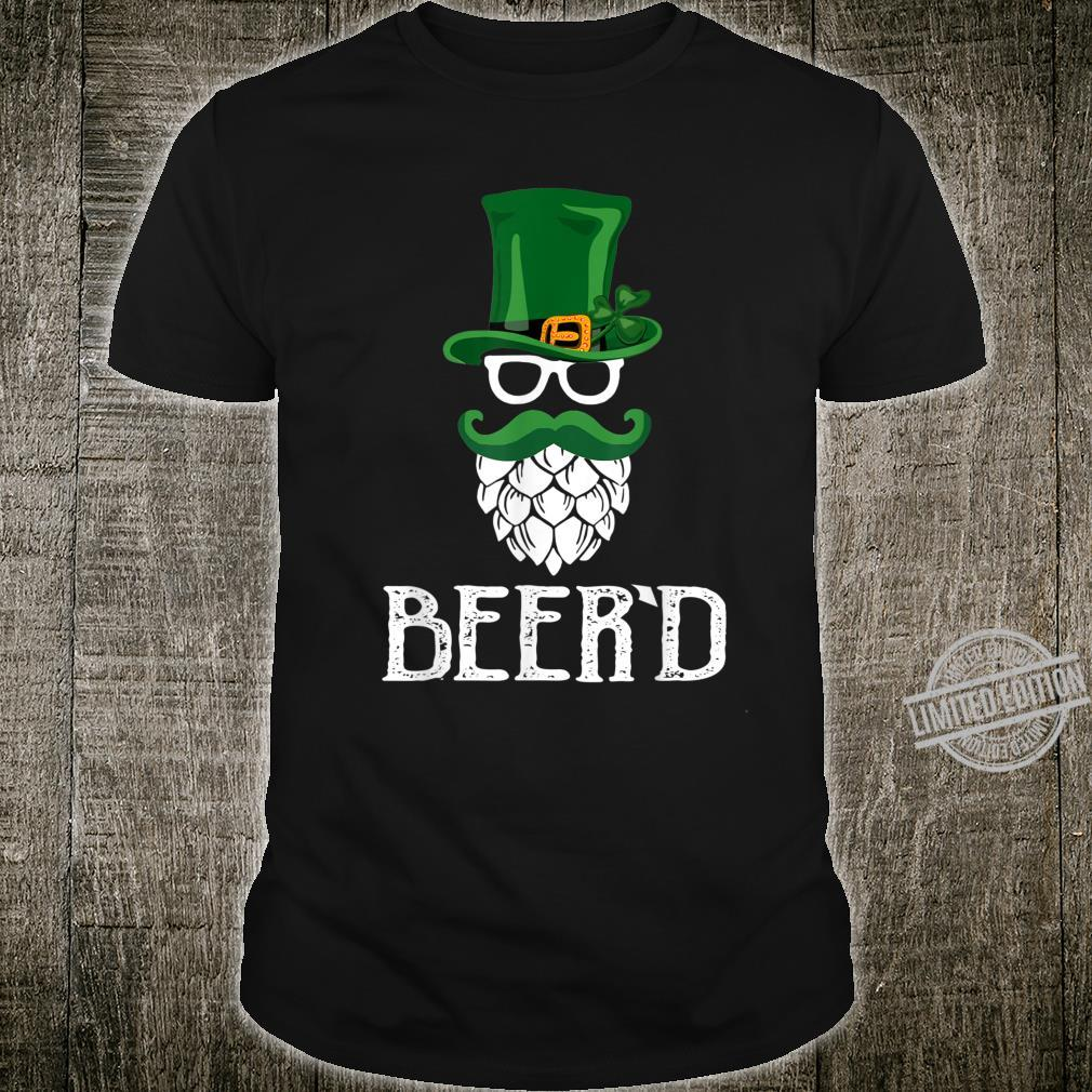 Beer'd Beard St. Patrick's Day For Craft Beers Shirt