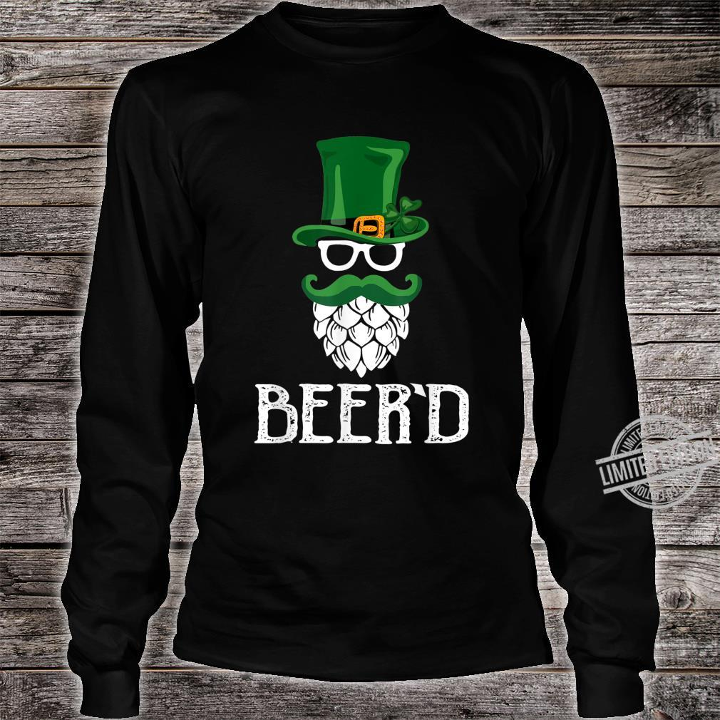 Beer'd Beard St. Patrick's Day For Craft Beers Shirt long sleeved