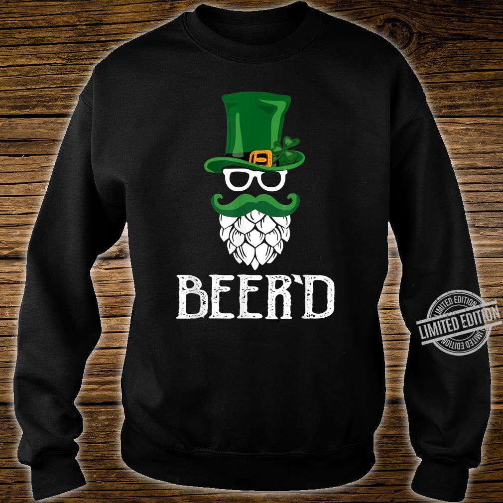 Beer'd Beard St. Patrick's Day For Craft Beers Shirt sweater
