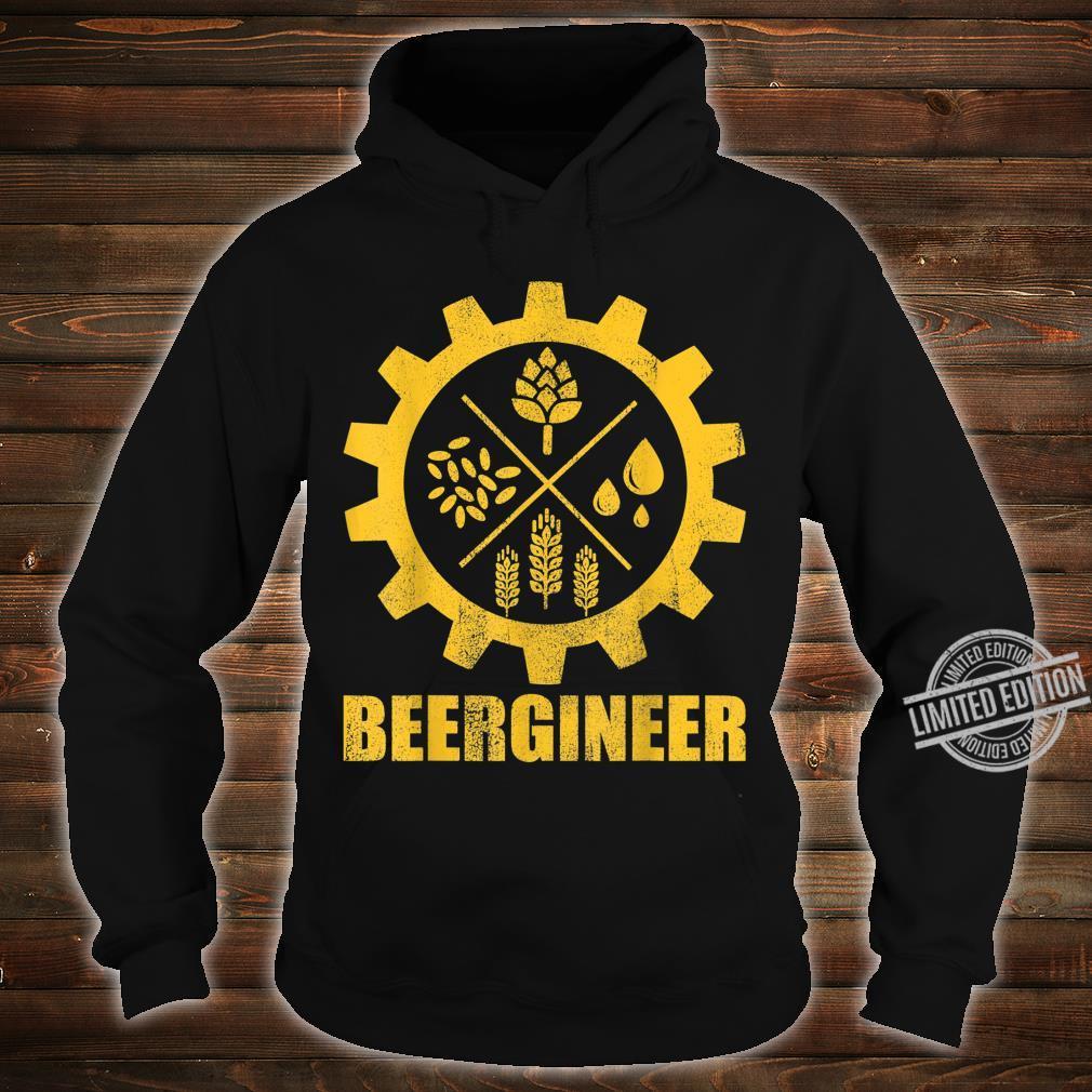Beergineer Home Brewing Craft Beer Brewer Homebrewing Man Shirt hoodie