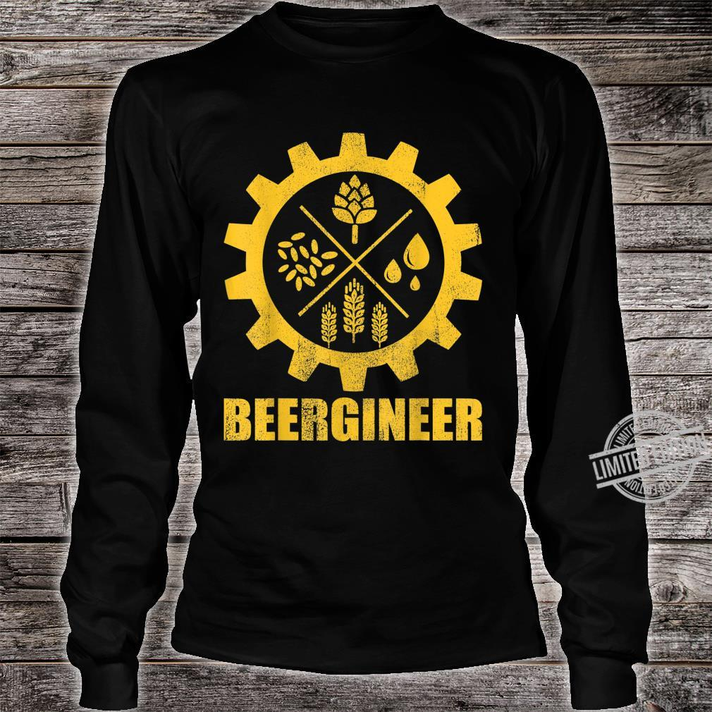 Beer Making Diagram for Homebrew Unisex Sweatshirt tee
