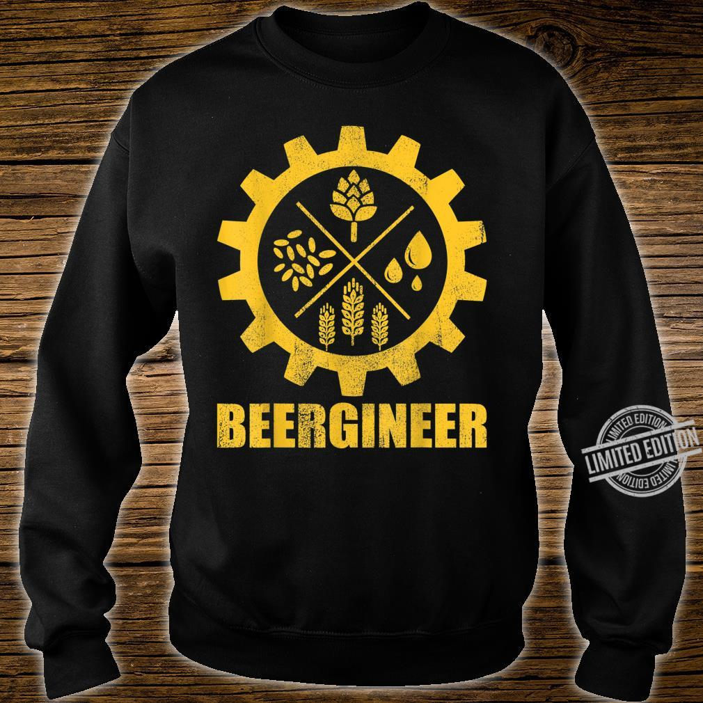 Beergineer Home Brewing Craft Beer Brewer Homebrewing Man Shirt sweater