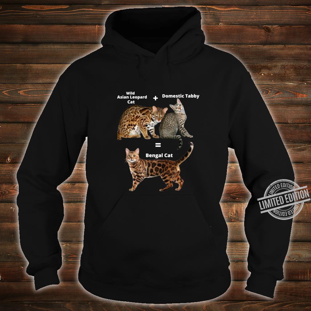 Bengal Cat Shirt hoodie