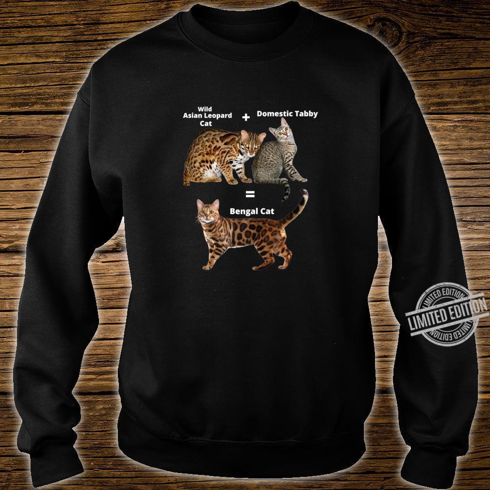Bengal Cat Shirt sweater