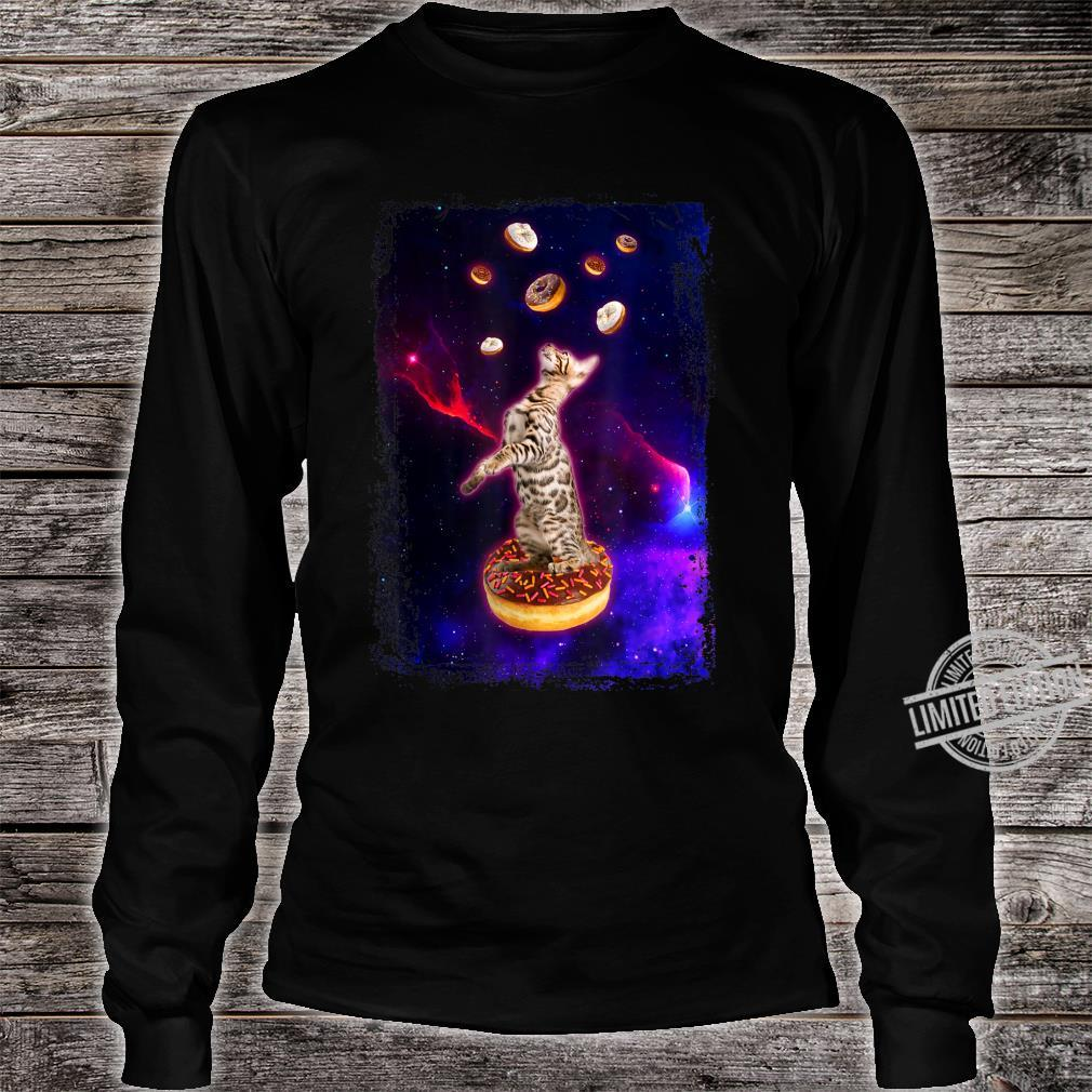 Bengal Cat in Space Ocicat Kitty in Space Shirt long sleeved
