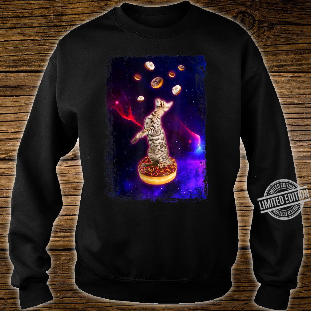 Bengal Cat in Space Ocicat Kitty in Space Shirt sweater