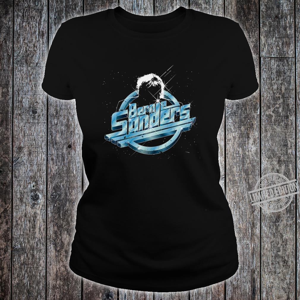 Bernie Sanders Indie Music Rock Star Vintage Retro Design Shirt ladies tee
