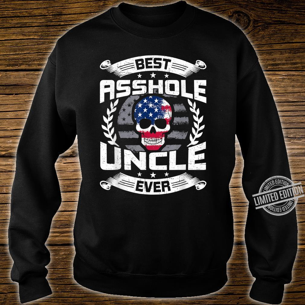 Best Asshole Uncle Ever USA Skull American Uncle Shirt sweater