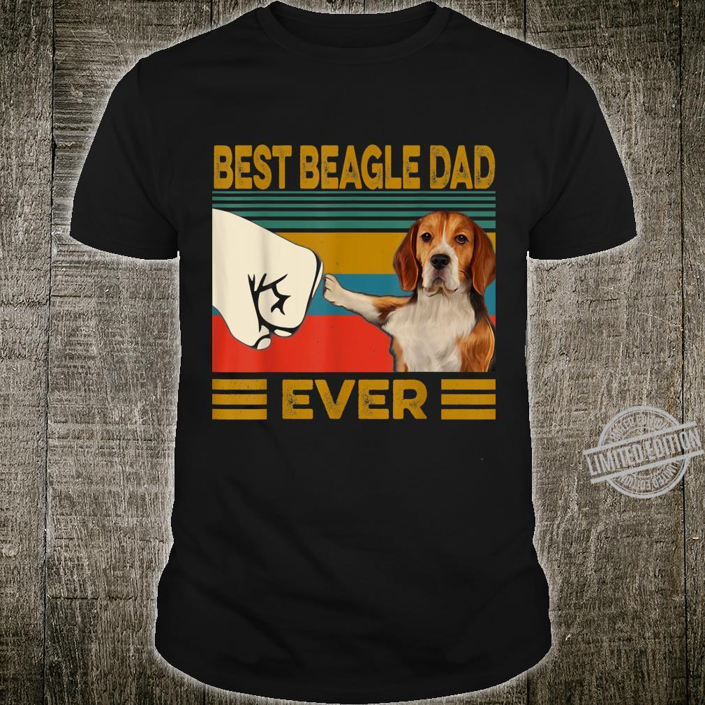 Best Beagle Dad Ever Shirt