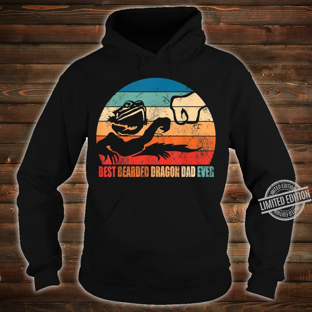 Best Bearded Dragon Dad Ever Fist Bump Son Daughter Shirt hoodie
