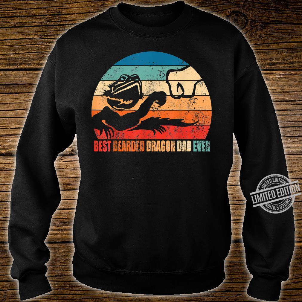 Best Bearded Dragon Dad Ever Fist Bump Son Daughter Shirt sweater