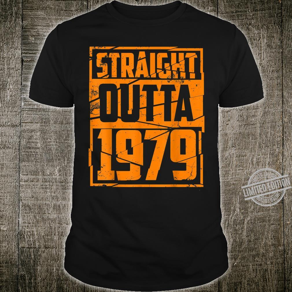 Best Straight Outta 1979 Cute 41st Birthday Shirt