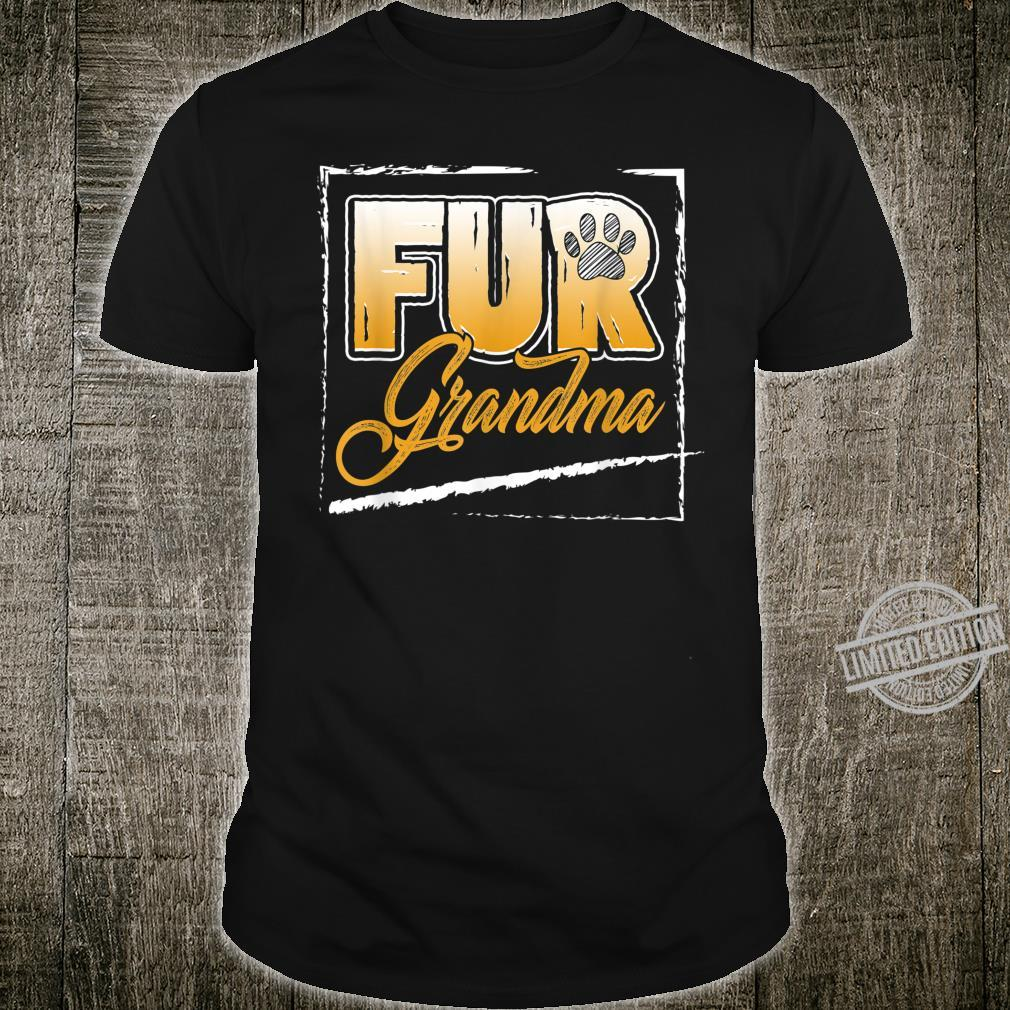 Funny Dog Cat Grandma Fur Grandma Mother Day 2020 Shirt