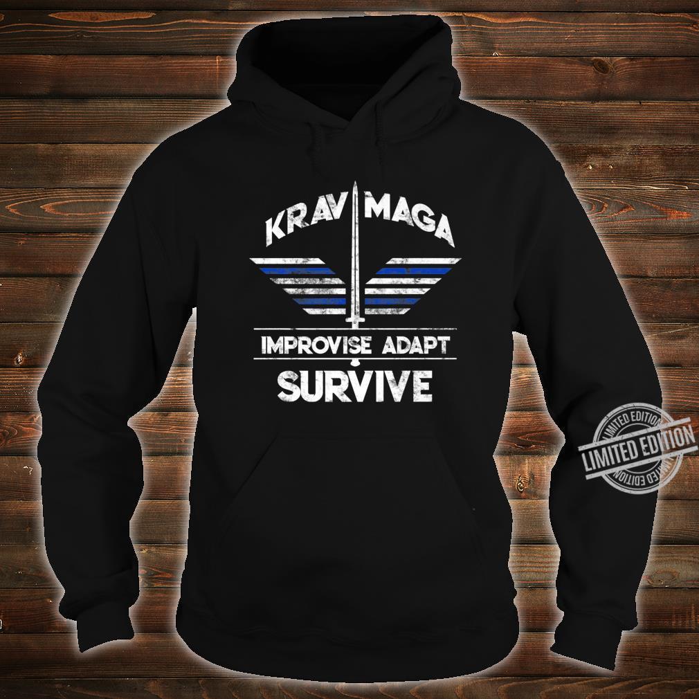 Krav Maga Gear Self Defense Israeli Combat Training Shirt hoodie