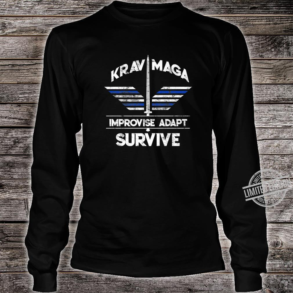 Krav Maga Gear Self Defense Israeli Combat Training Shirt long sleeved
