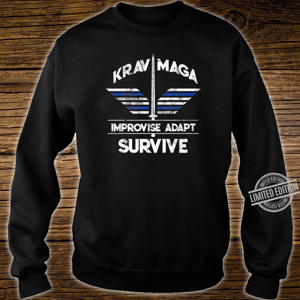 Krav Maga Gear Self Defense Israeli Combat Training Shirt sweater