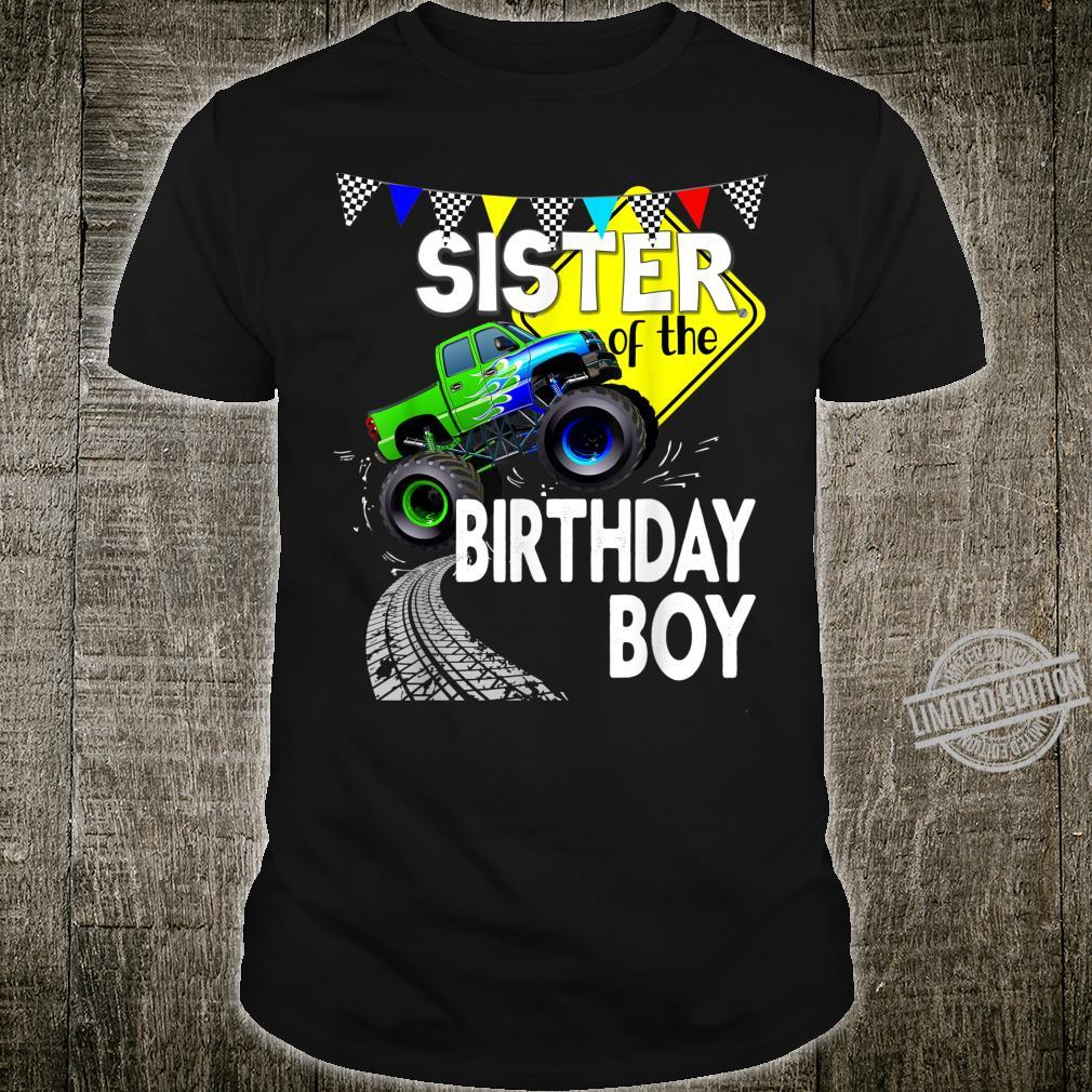 Monster Truck Birthday Party Matching Family Group Shirt