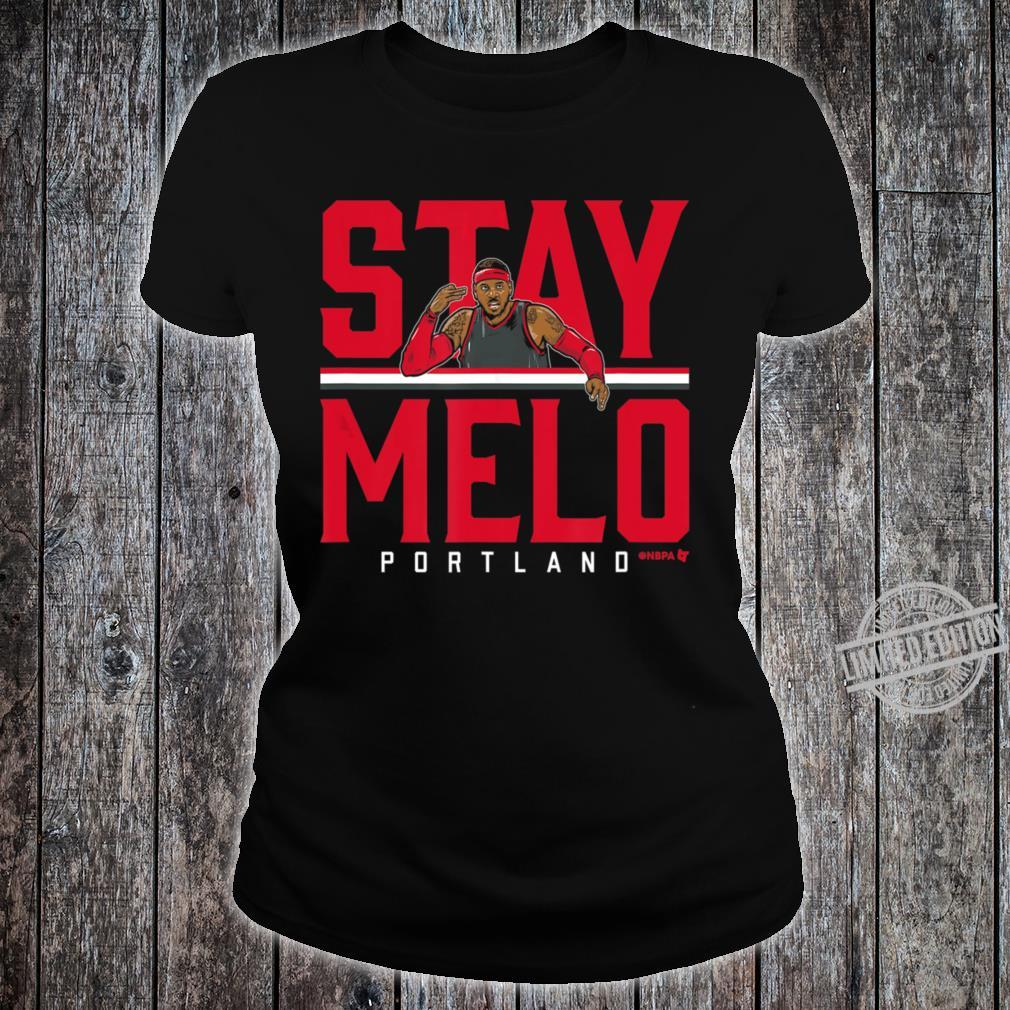 Officially Licesed Carmelo Anthony St Shirt ladies tee