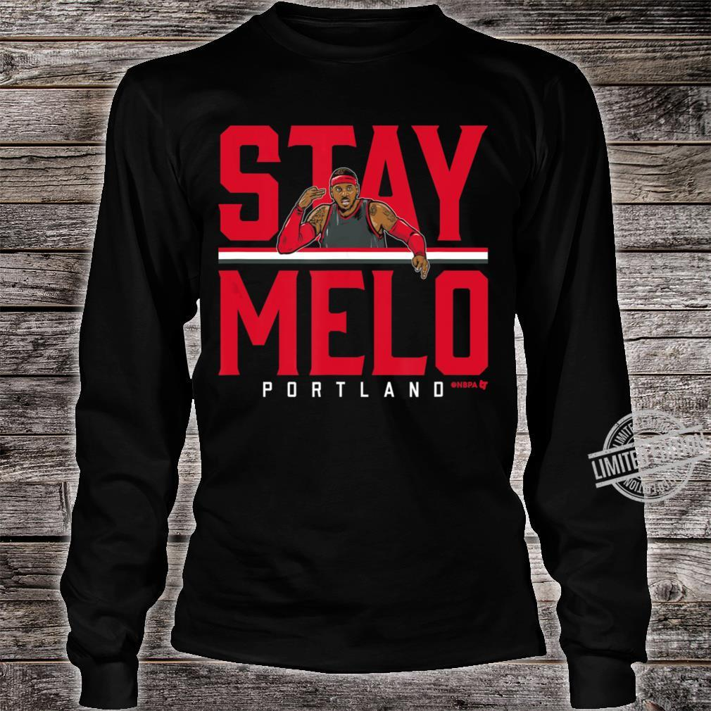Officially Licesed Carmelo Anthony St Shirt long sleeved