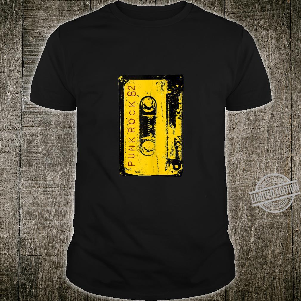 Punk Rock 80's Concert Mixtape Retro Cassette Vintage Shirt