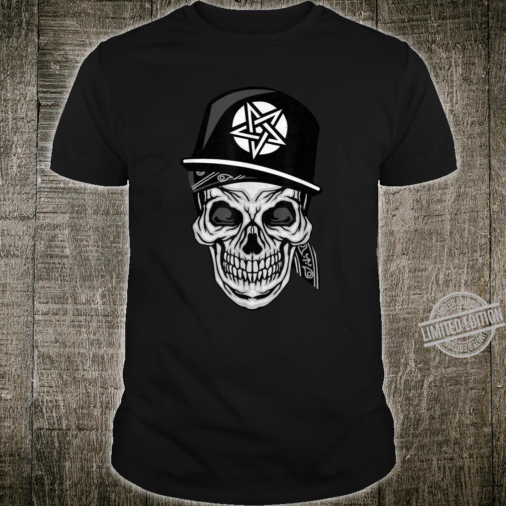 Throwback Vintage Skull Rapper 90's Hip Hop Shirt